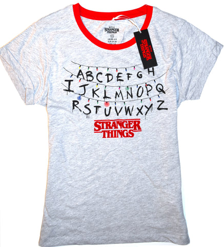 Stranger Things T Shirt Primark Netflix Ladies Womens UK Sizes 6 to 20