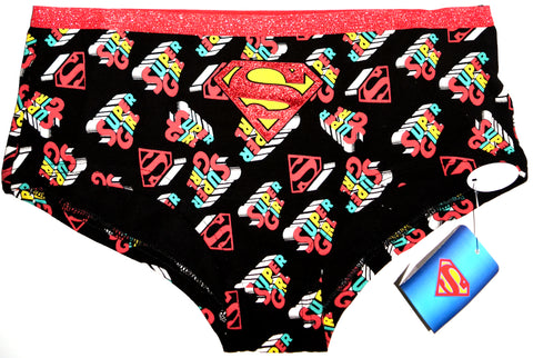 Supergirl Knickers Panties Superman DC Comics Red Womens Ladies UK Sizes 8 to 22