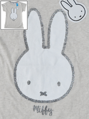 MIFFY BUNNY PRIMARK T-Shirt Top OatMeal Womens Ladies UK Sizes 4 - 24