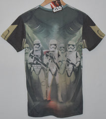 Primark Star Wars Mens T Shirt Kylo Ren Storm Troopers On Back UK - Click. Buy. Love. - 2