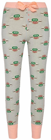 FRIENDS CENTRAL PERK PJ BOTTOMS Primark Ladies Womens Leggings Sizes 4 - 20