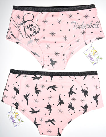 Tinkerbell Knickers Disney Panties Underwear Women Ladies UK Size 10