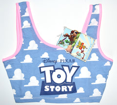 Primark Toy Story 4 Disney Pixar Tie Crop Top Tee Ladies Womens UK Size 6 to 16