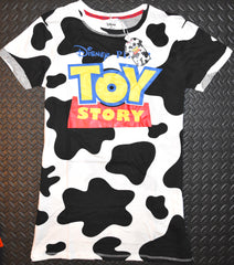 Toy Story Nightie PJ Primark 100% Cotton Cow Print Womens UK Sizes 6 to 20