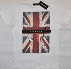 Primark Union Jack Flag MENS T SHIRT British London GB NEW UK Sizes XS - XXL