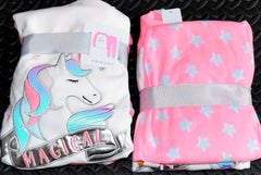 Unicorn PJs Primark Pyjamas Fleece Childrens Kids Teens Pijamas 18M to 15 Years