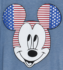Primark Mickey Mouse T Shirt Disney Womens USA Flag Ladies UK Sizes 6-20 NEW - Click. Buy. Love. - 3