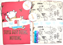 Winne Pooh PJ Set Disney Primark Womens Ladies Pyjamas Pijamas UK Size 6 to 20