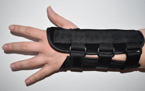 Wrist Brace Support Moulded Breathable Splint Carpal Tunnel Strap Sprain Brake