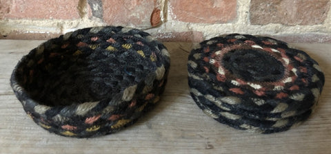 Set of 6 Braided Coasters