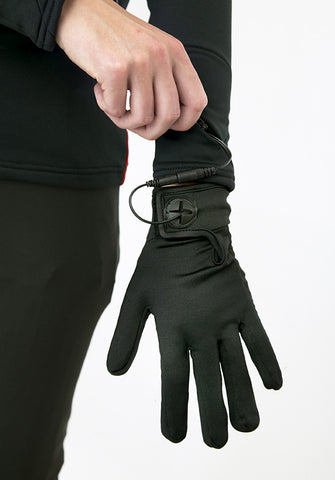 Heated Glove Liner 7.4 (Gloves only, lanyard and battery also required) - Warm and Safe Heated Clothing for Motorcycling, work and recreation