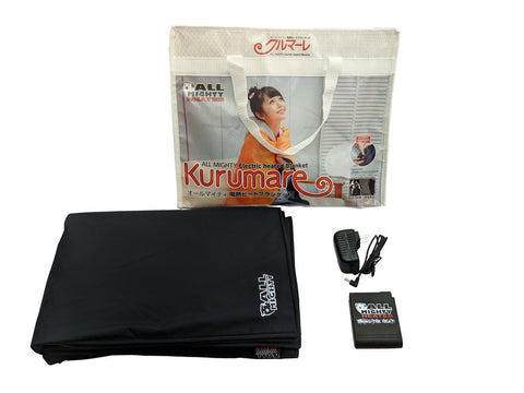 KURUMARE - PORTABLE BATTERY-POWERED HEATED BLANKET - Warm and Safe Heated Clothing for Motorcycling, work and recreation