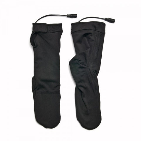 7.4 Volt Heated Socks (socks only, lanyard and battery also required) - Warm and Safe Heated Clothing for Motorcycling, work and recreation