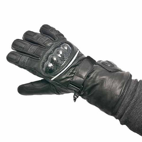 Ultimate Touring Riding Gloves - Warm and Safe Heated Clothing for Motorcycling, work and recreation