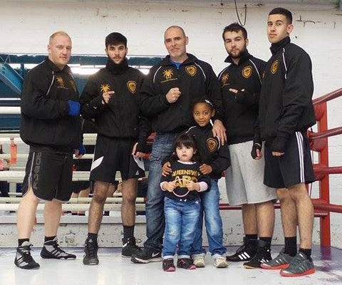 Queensway ABC boxing team Rochdale