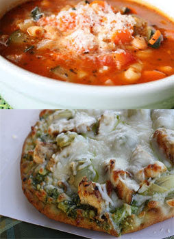 2.   Tuesday Special - Tuesday, August 22nd - Flatbread and Soup or Salad Combo