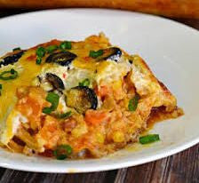4.  Thursday Special - Thursday, December 14th - Chicken Enchiladas Rancheros (gf)