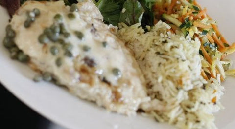 1.  Monday Special - Monday, September 18th- Chicken Picatta