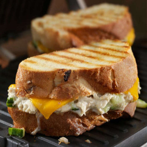 Tuna Melt with Cheddar