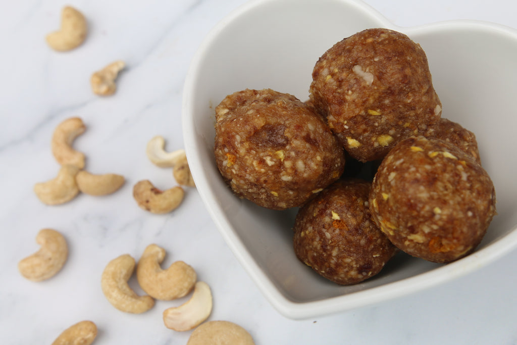 Cashew, Date and Orange Energy Ball #CErecipes