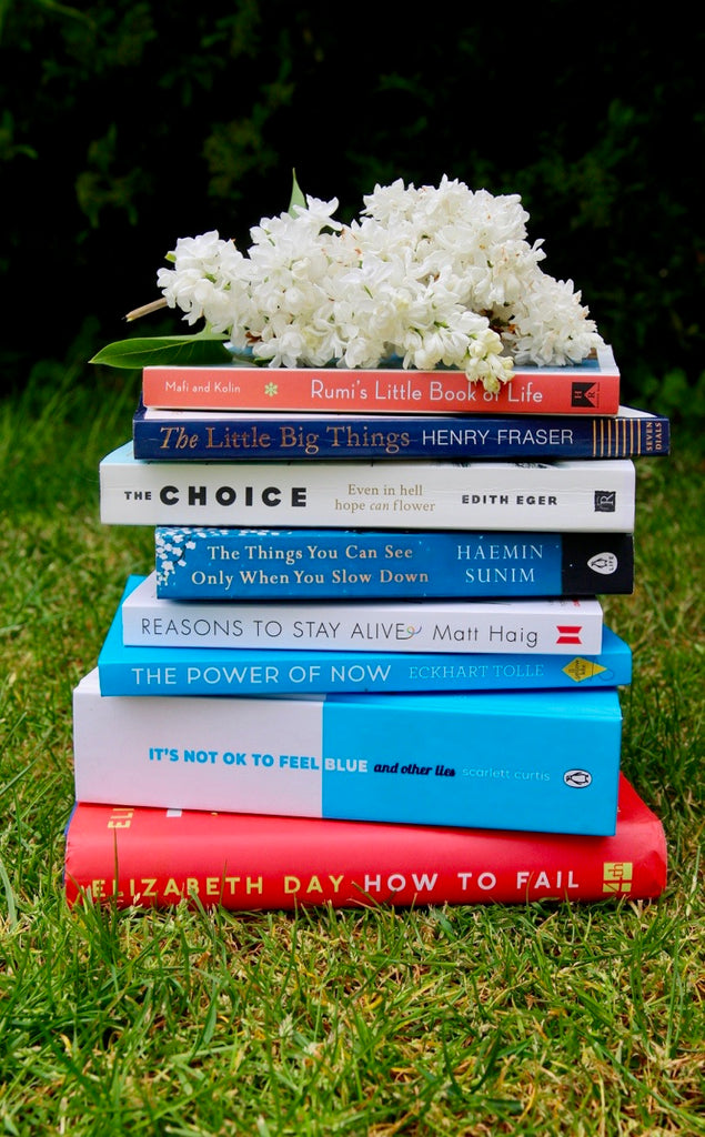 My Top Book Favourites for Mental Wellbeing