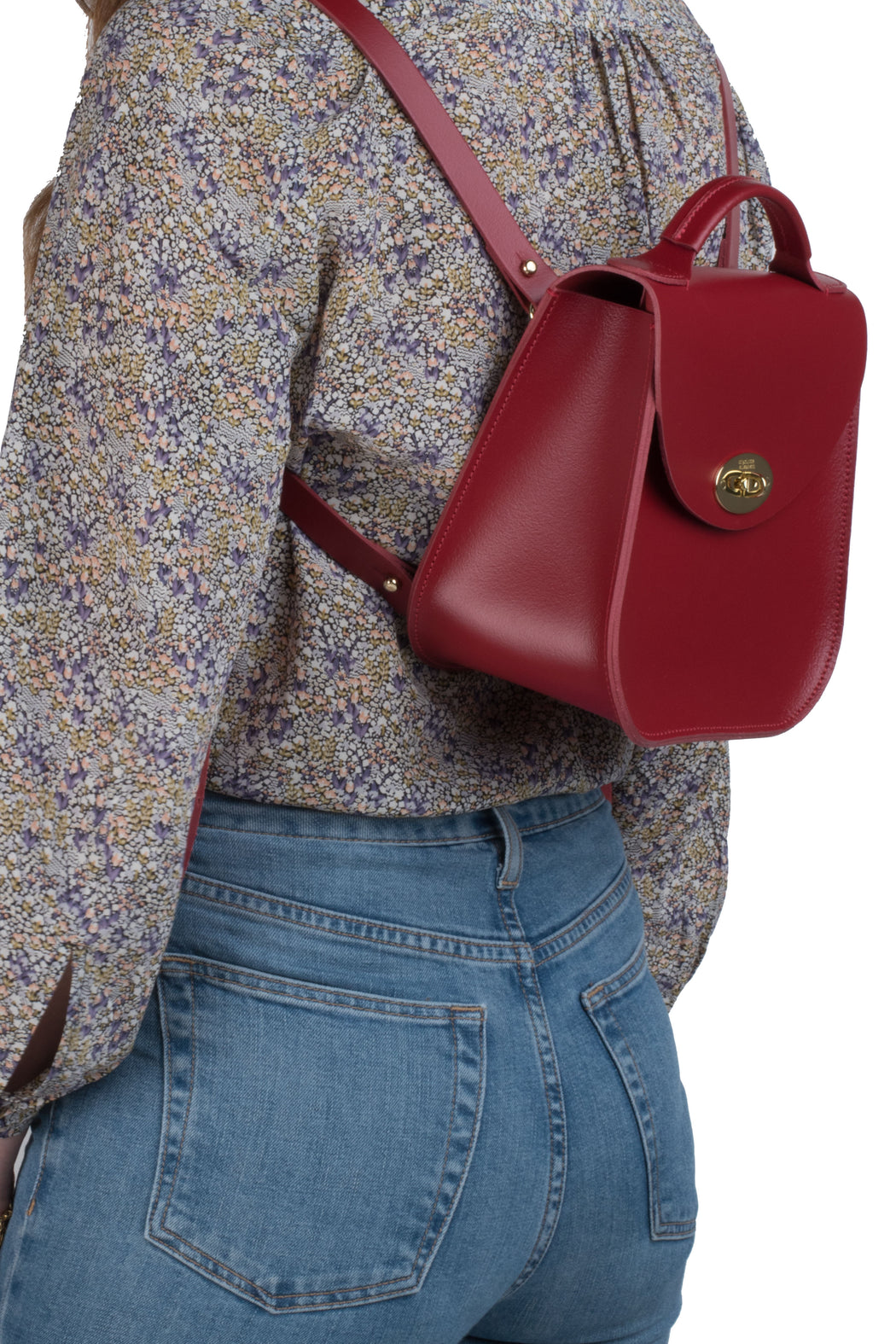 Pre-Order The Red Bloomsbury Backpack (Non-Personalised)