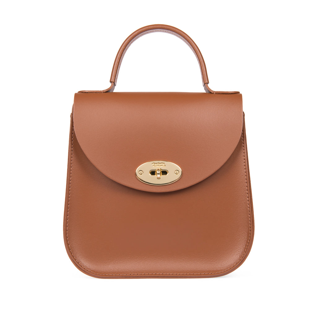 The Chestnut Bloomsbury Handbag Worn by Meghan Markle Duchess of Sussex
