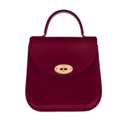 The Oxblood Bloomsbury-Crossbody ladies luxury leather handbag british-Charlotte Elizabeth