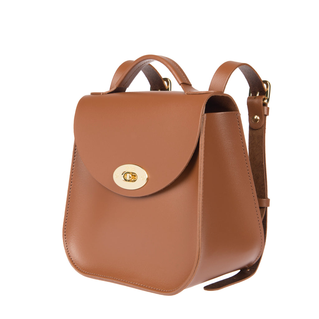 The Chestnut Bloomsbury Backpack - Charlotte Elizabeth