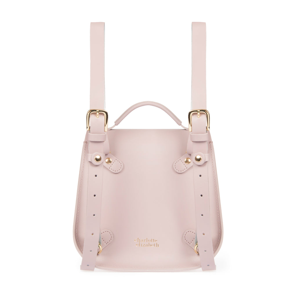 The Pink Bloomsbury Backpack - Charlotte Elizabeth