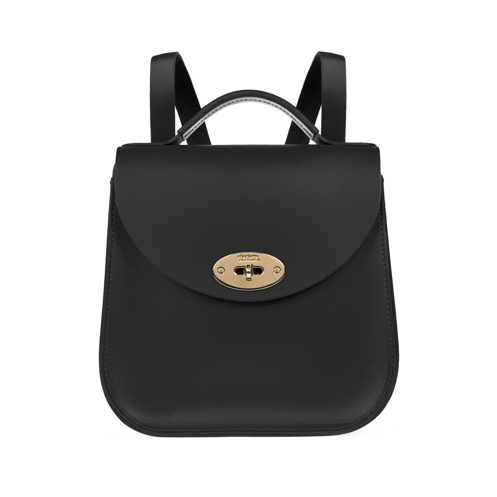 The Black Bloomsbury Backpack - Charlotte Elizabeth