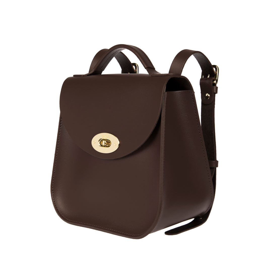 The Chocolate Bloomsbury Backpack - Charlotte Elizabeth