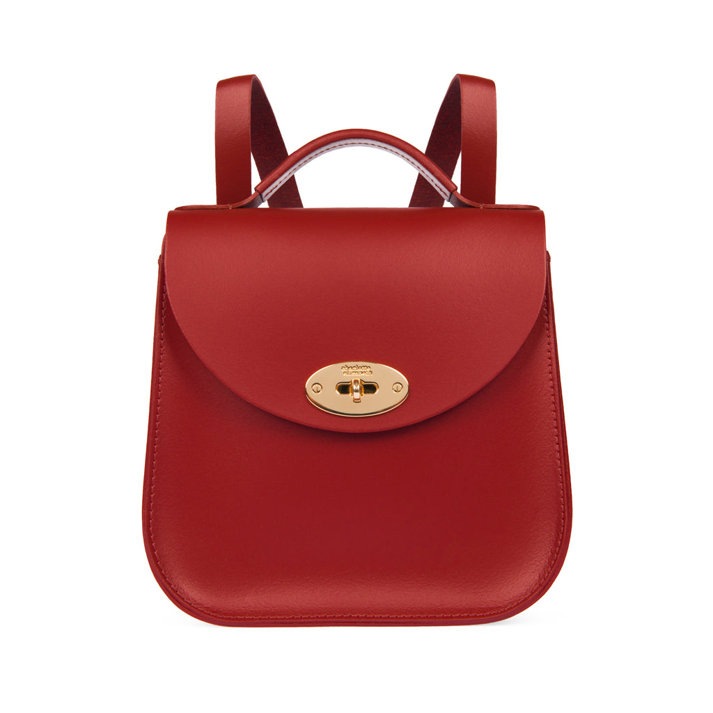 The Red Bloomsbury Backpack