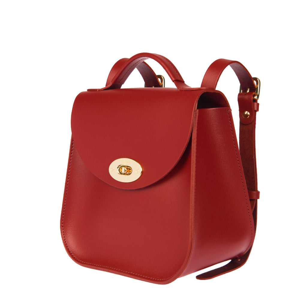 The Red Bloomsbury Backpack - Charlotte Elizabeth
