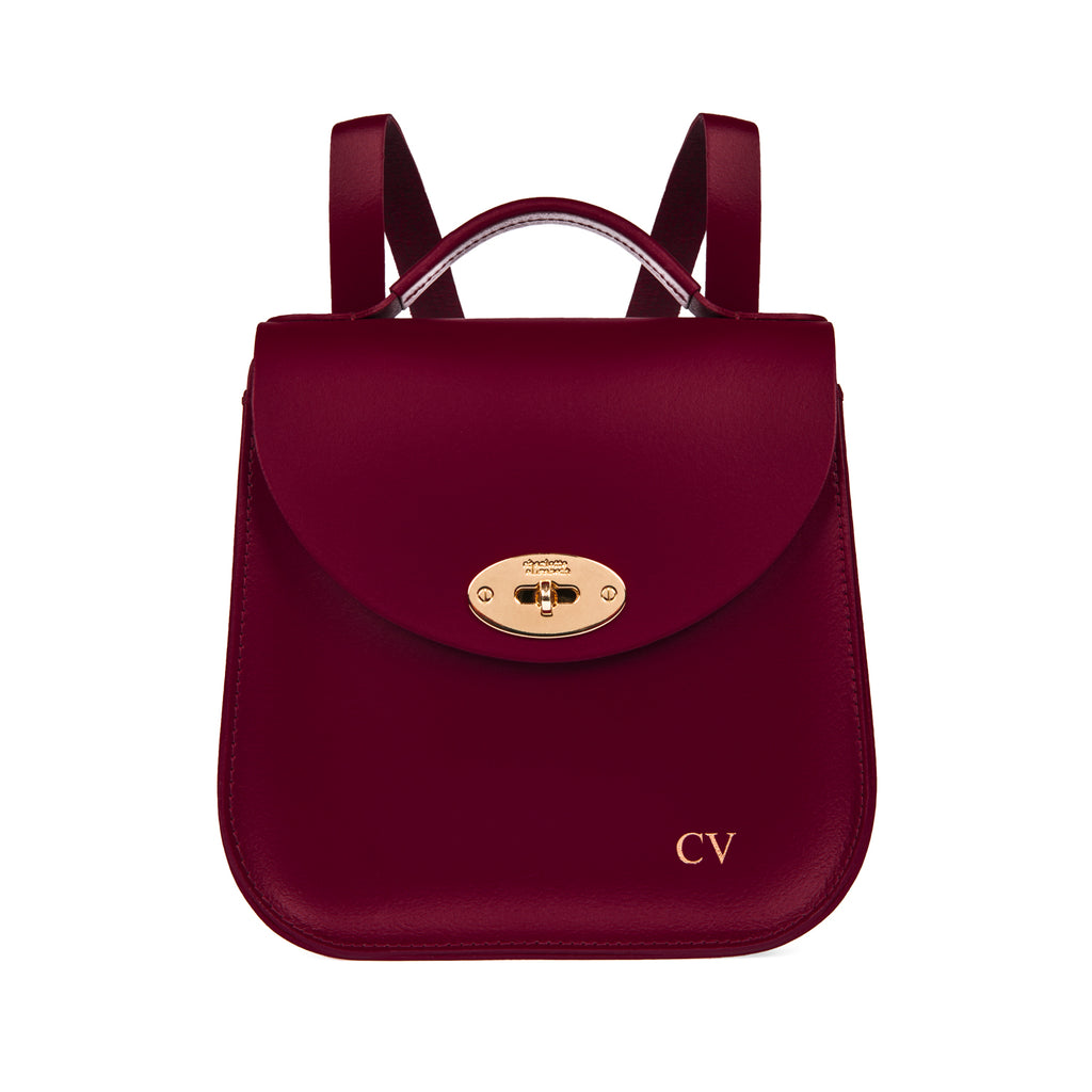 The Oxblood Bloomsbury Backpack