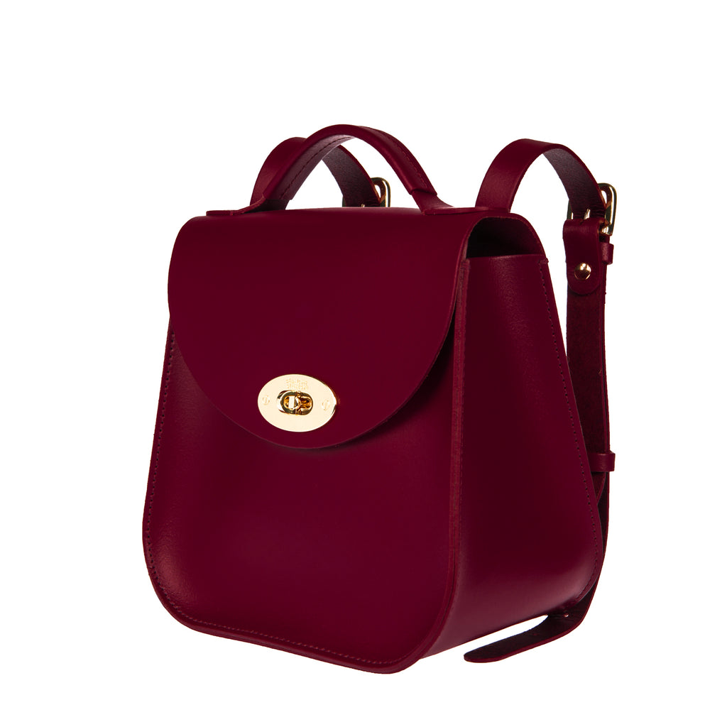 The Oxblood Bloomsbury Backpack - Charlotte Elizabeth