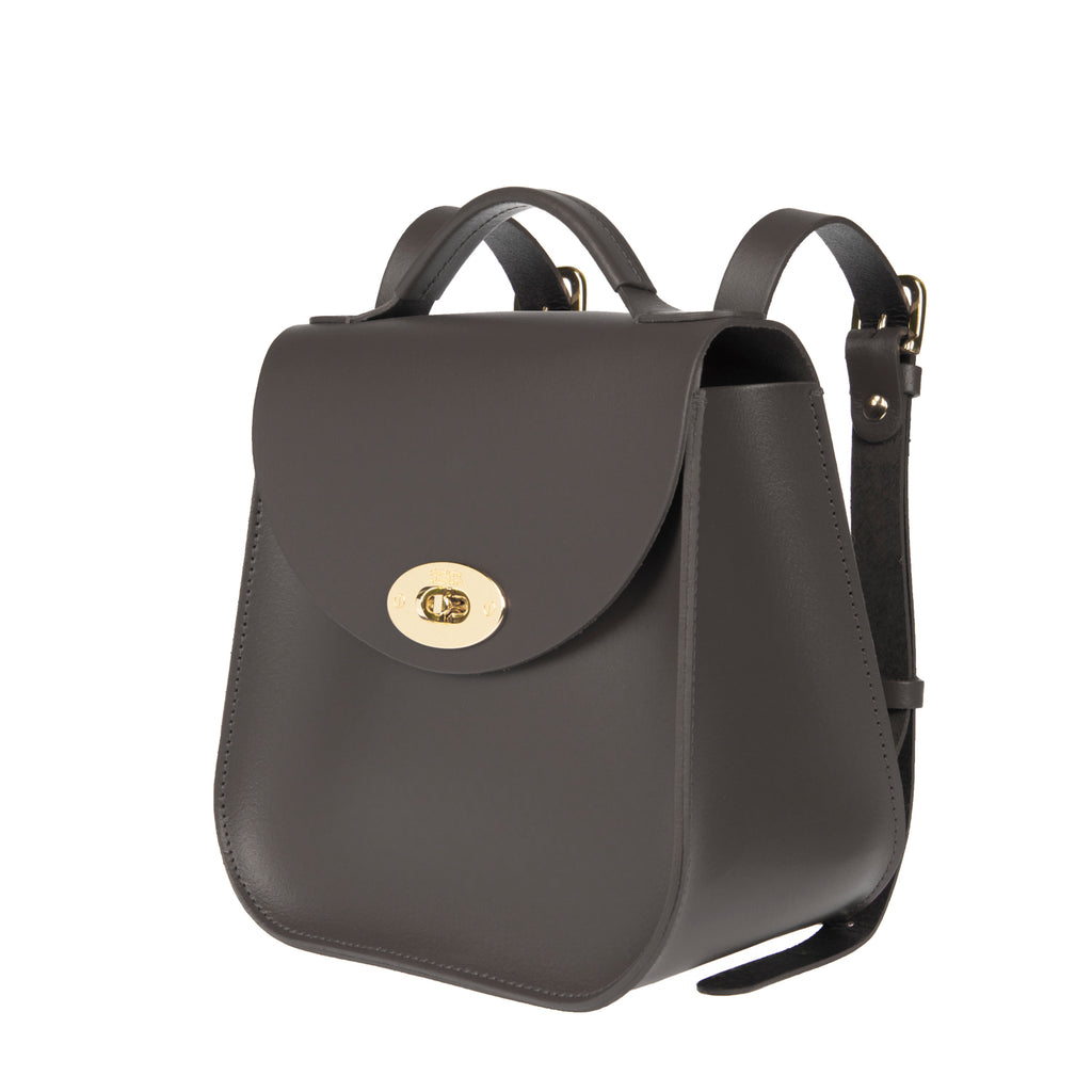 The Grey Bloomsbury Backpack - Charlotte Elizabeth