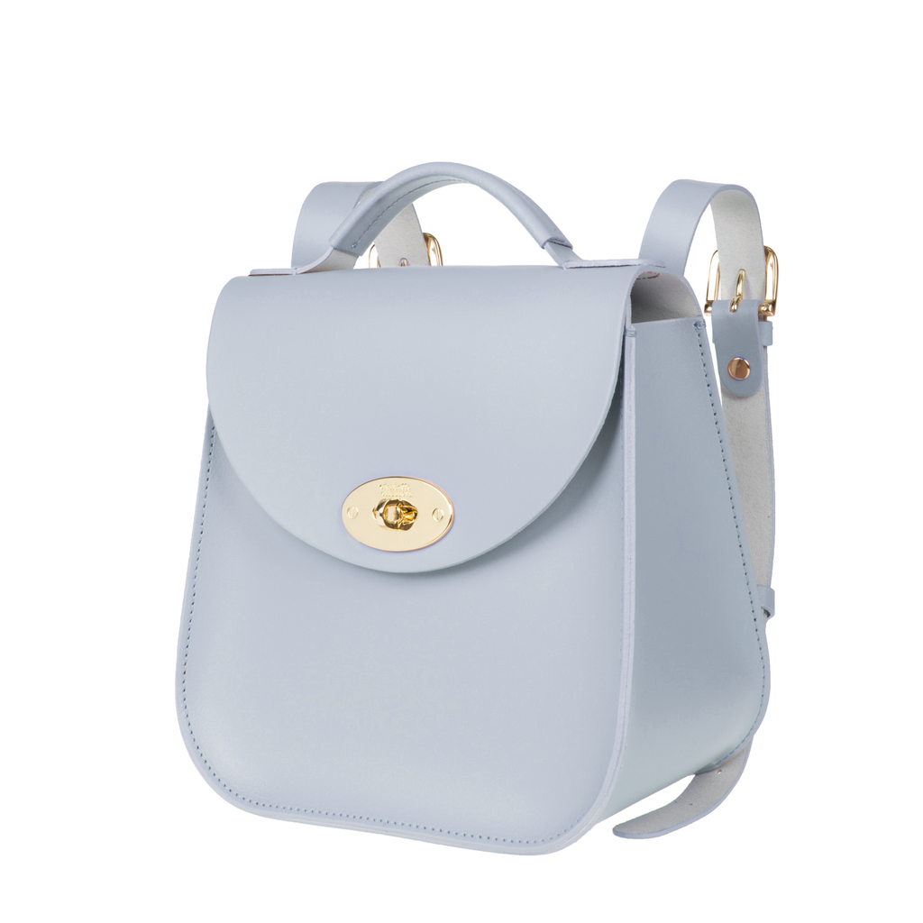 The Blue Bloomsbury Backpack - Charlotte Elizabeth