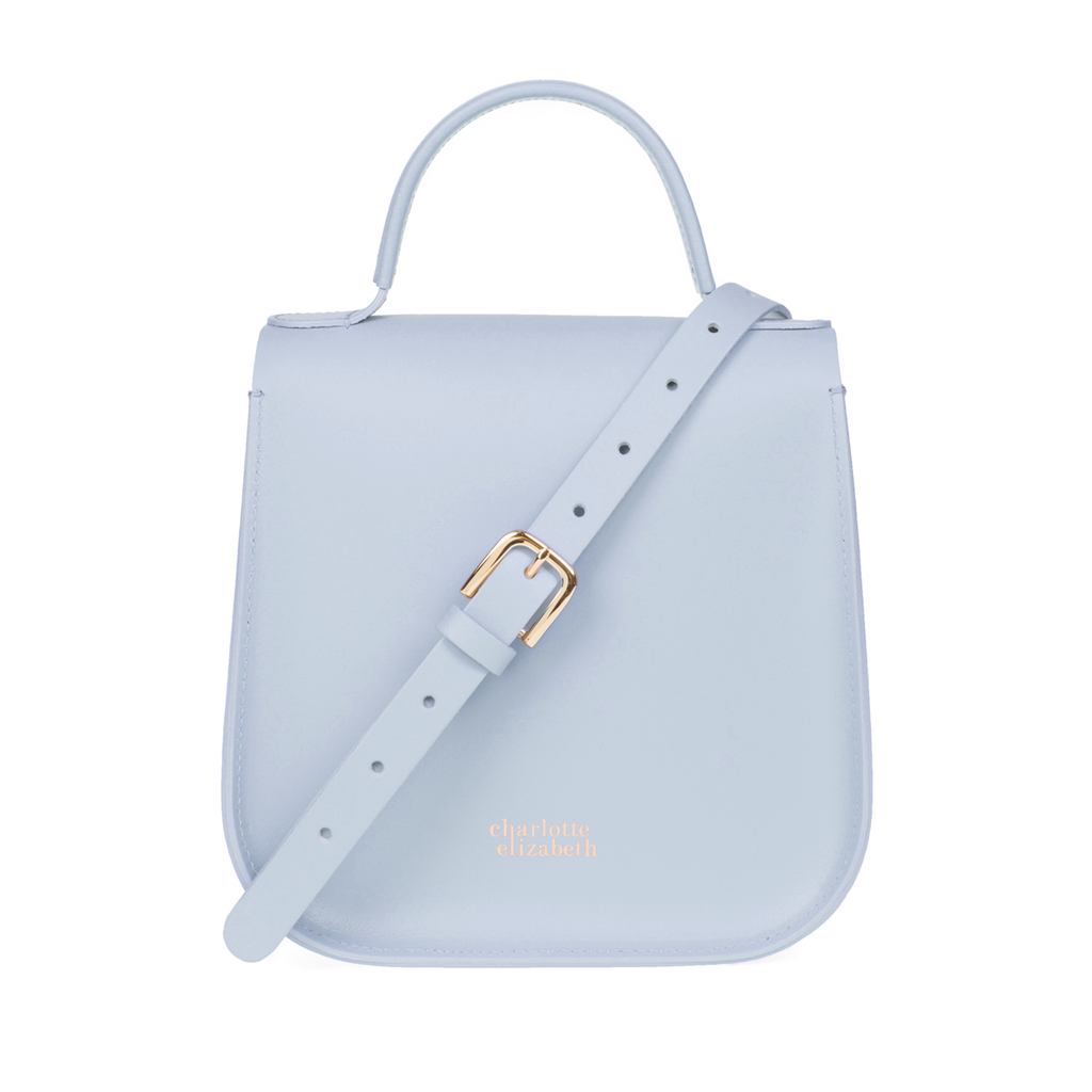 The Blue Bloomsbury-Crossbody ladies luxury leather handbag british-Charlotte Elizabeth