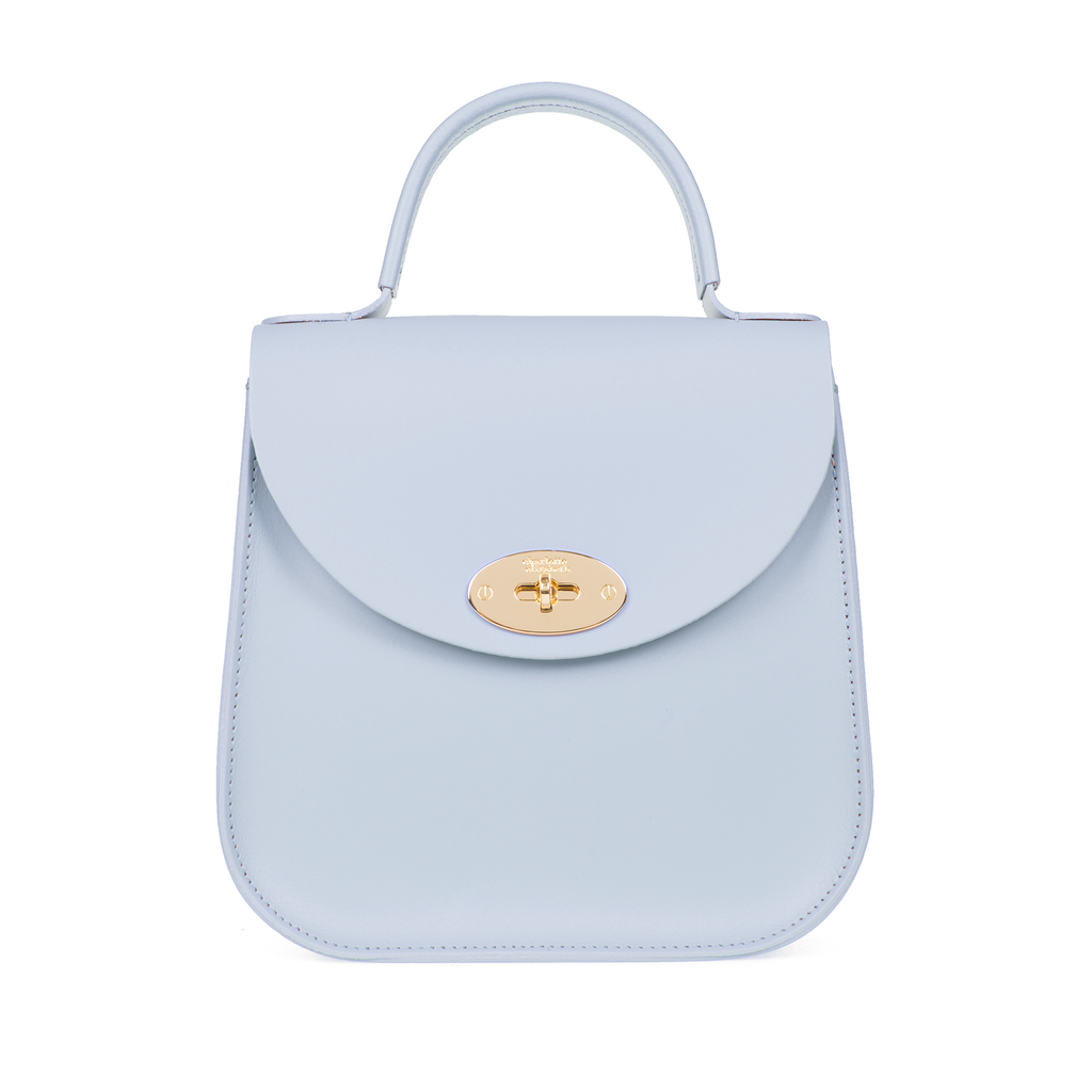 Baby soft blue handbag ladies purse luxury designer UK