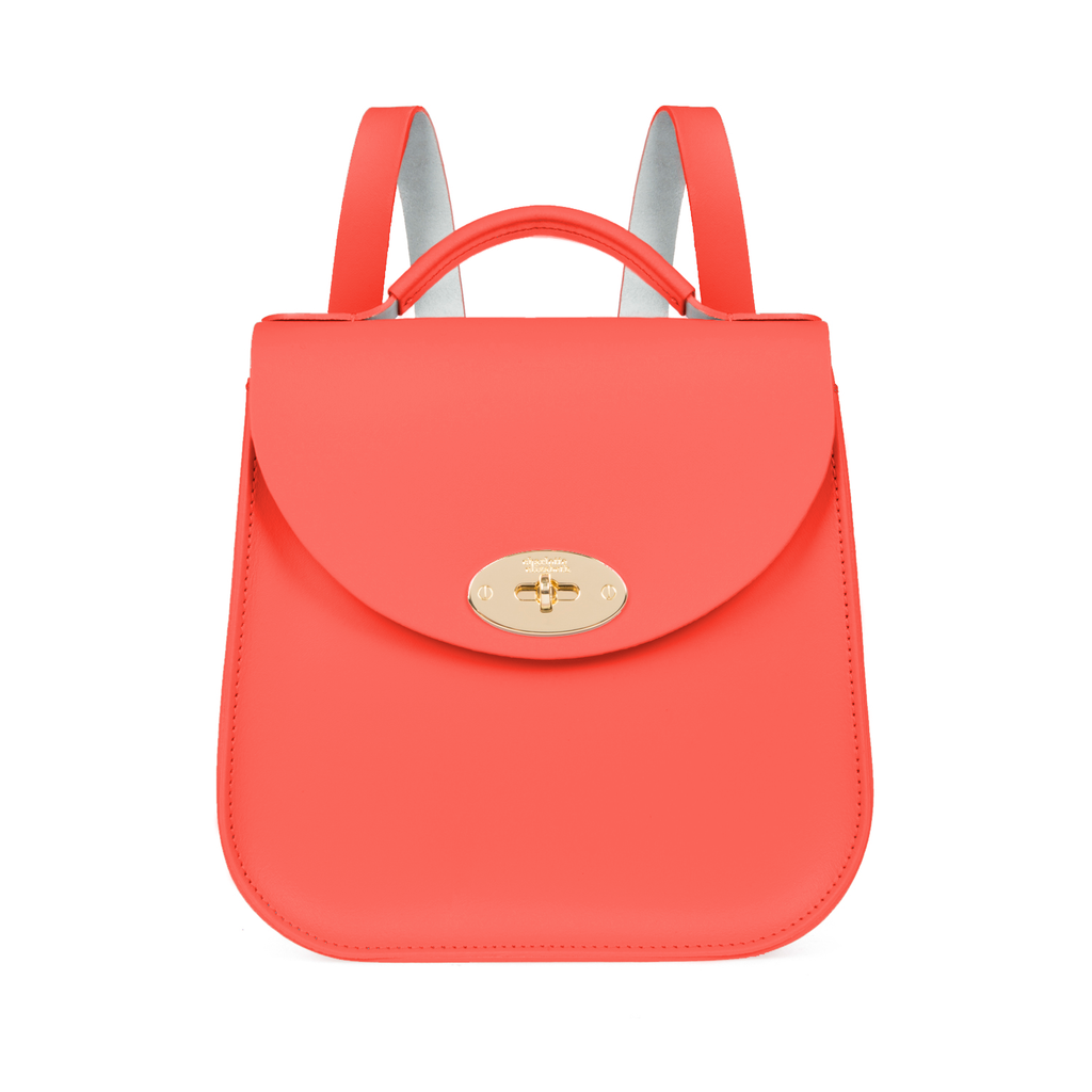 The Coral Bloomsbury Backpack - Charlotte Elizabeth
