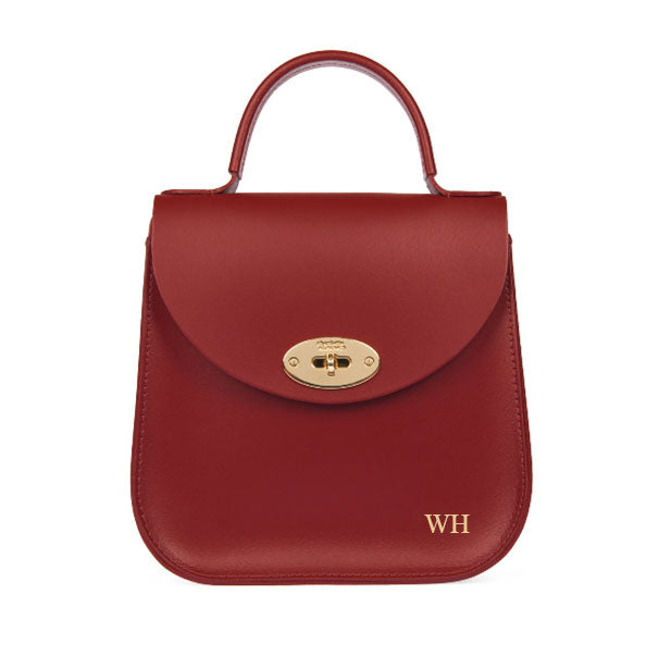"SAMPLE SALE The Red Bloomsbury Personalised ""WH"""