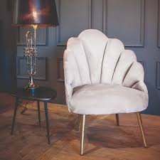 Chelsea Tulip Velvet Silver Grey Chair