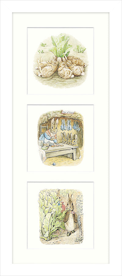 Peter Rabbit and Family by Beatrix Potter