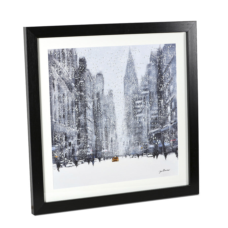 Heavy Snowfall, Lexington Avenue by Jon Barker
