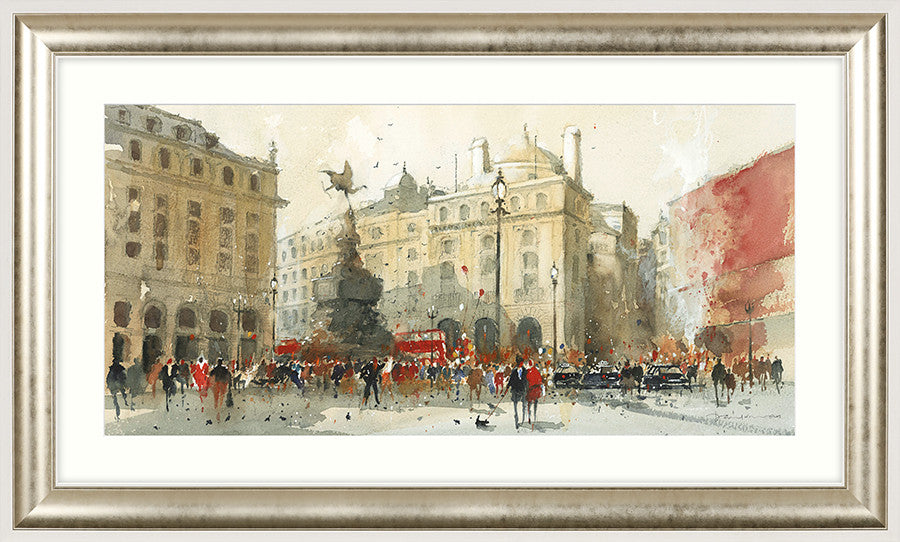 Piccadilly Circus by David Norman