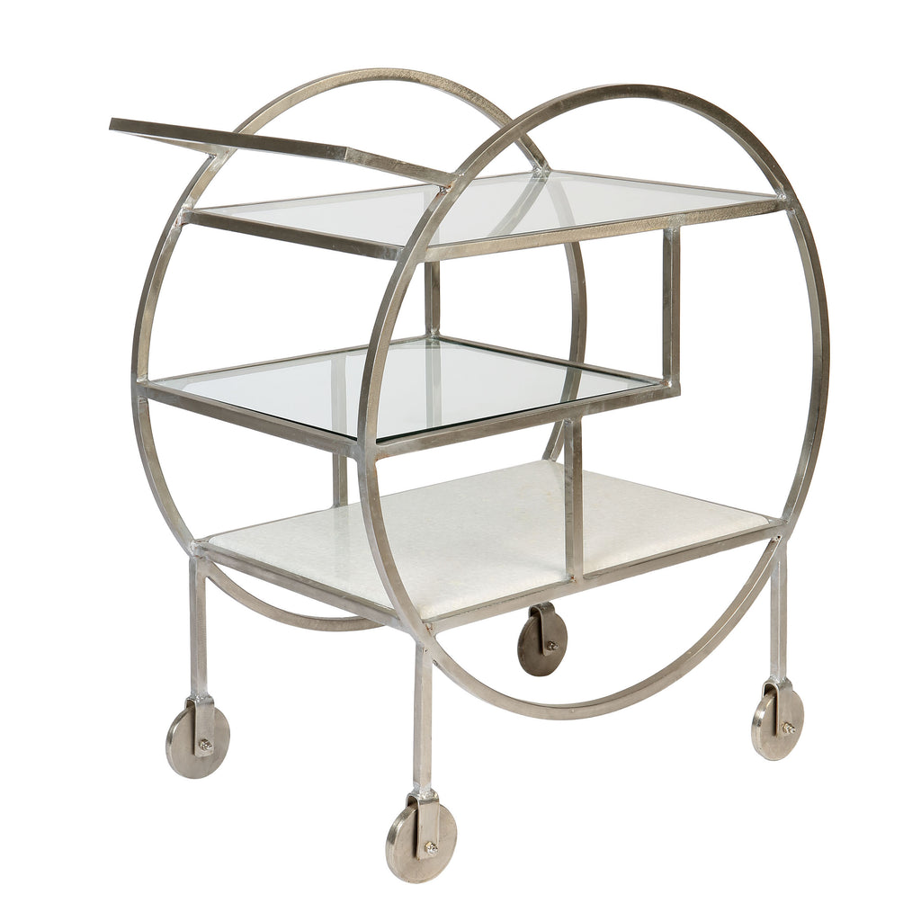 Mayfair Three Tier Drinks Trolley