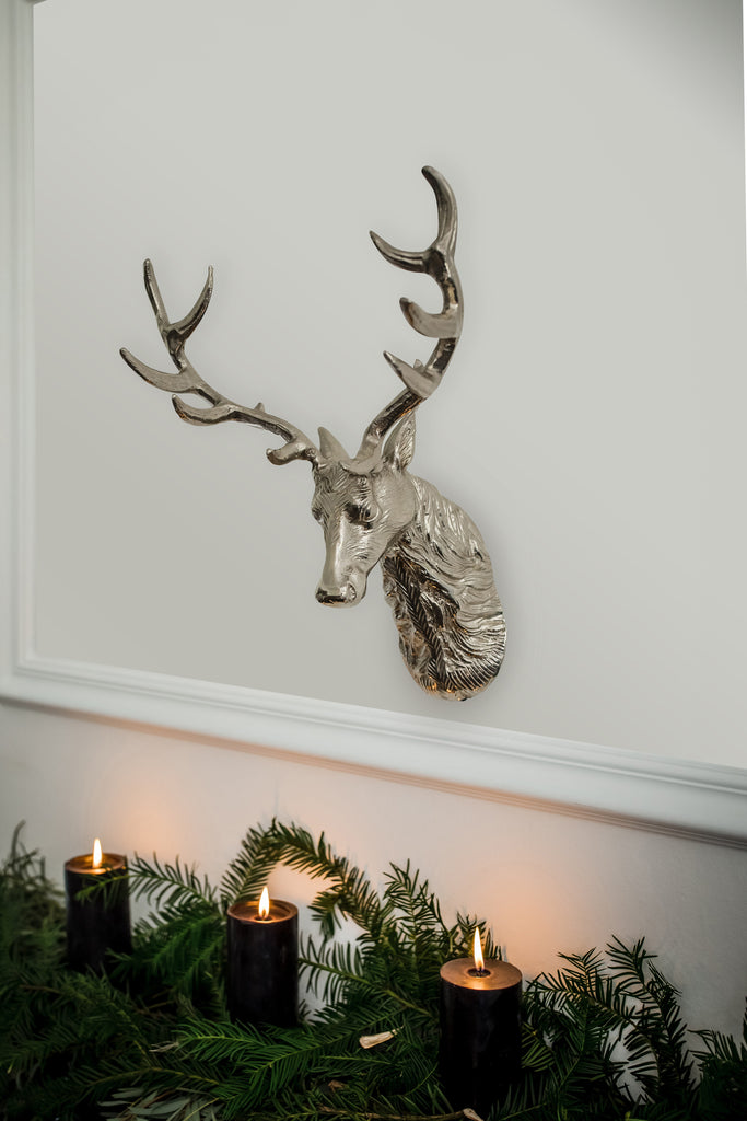Stag Head Wall Ornament