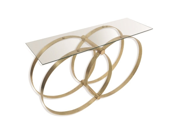 Union Glass Console Table