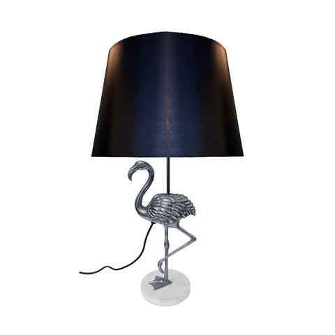 Flamingo Table Lamp With Black Shade